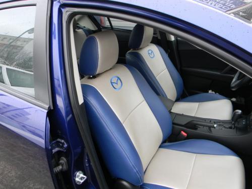 Чехлы на сиденья Mazda 3