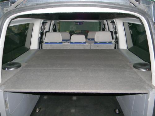 Изготовление задней полки в VW Caddy