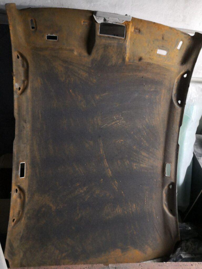 ремонт потолка авто
