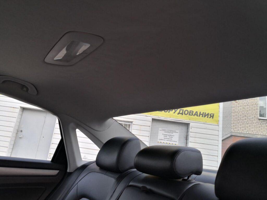ремонт потолока авто