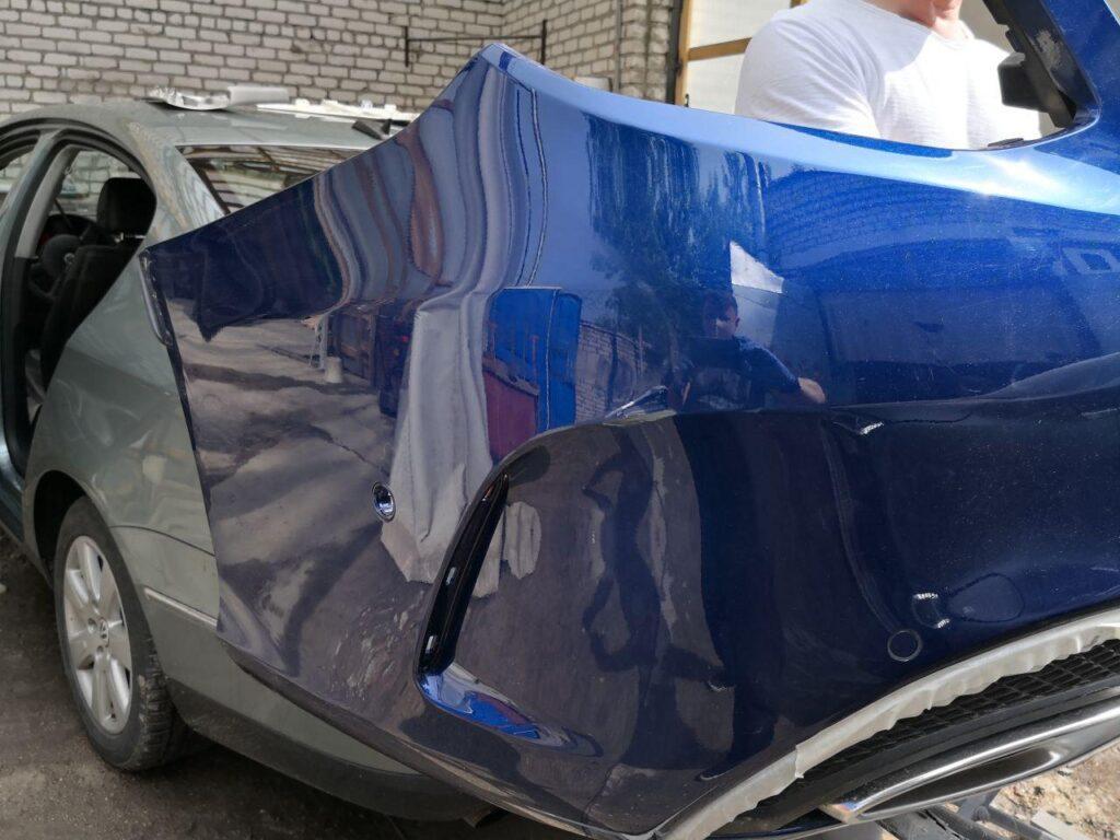 покраска авто в камере