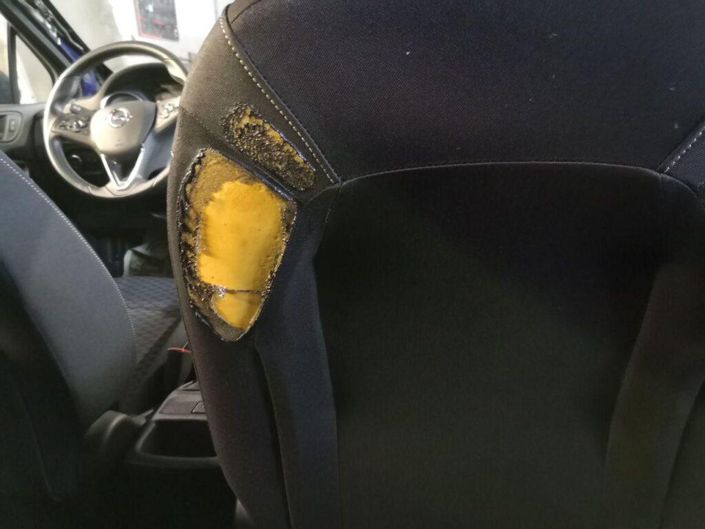 ремонт сиденья автомобиля в минске