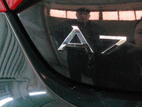 Чернение хрома на Audi A7