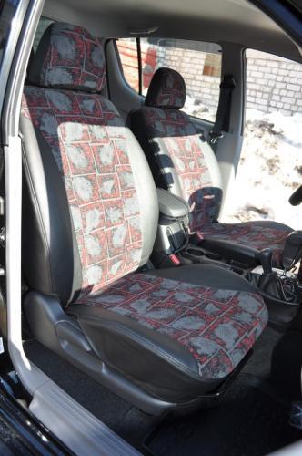 Чехлы на сиденья Mitsubishi L200