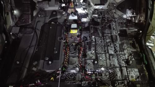 Доработка шумоизоляции салона VW T5