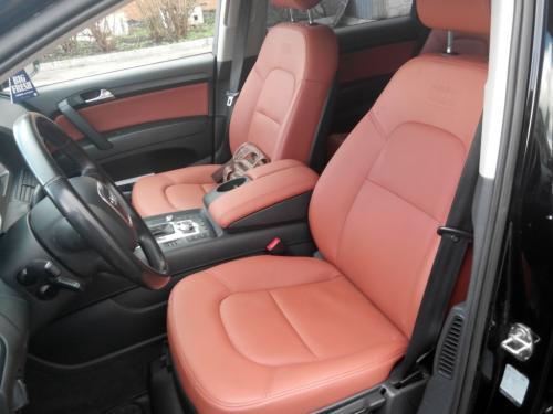 Перетяжка салона Audi