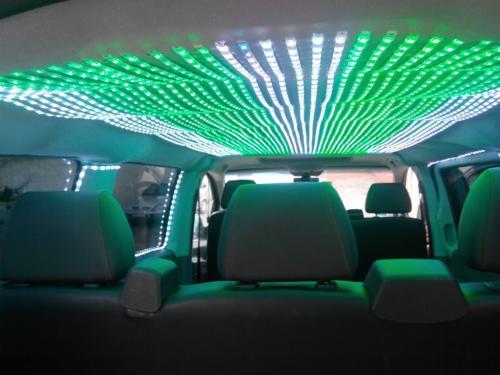 Светодиодный потолок для TV такси ОНТ